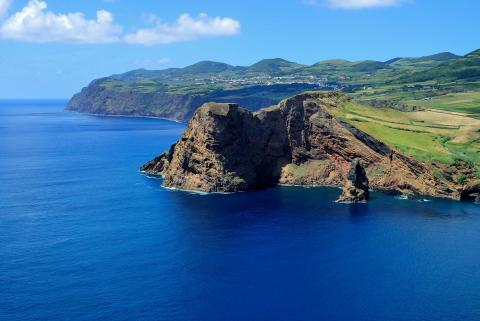 Azores and mainland Portugal