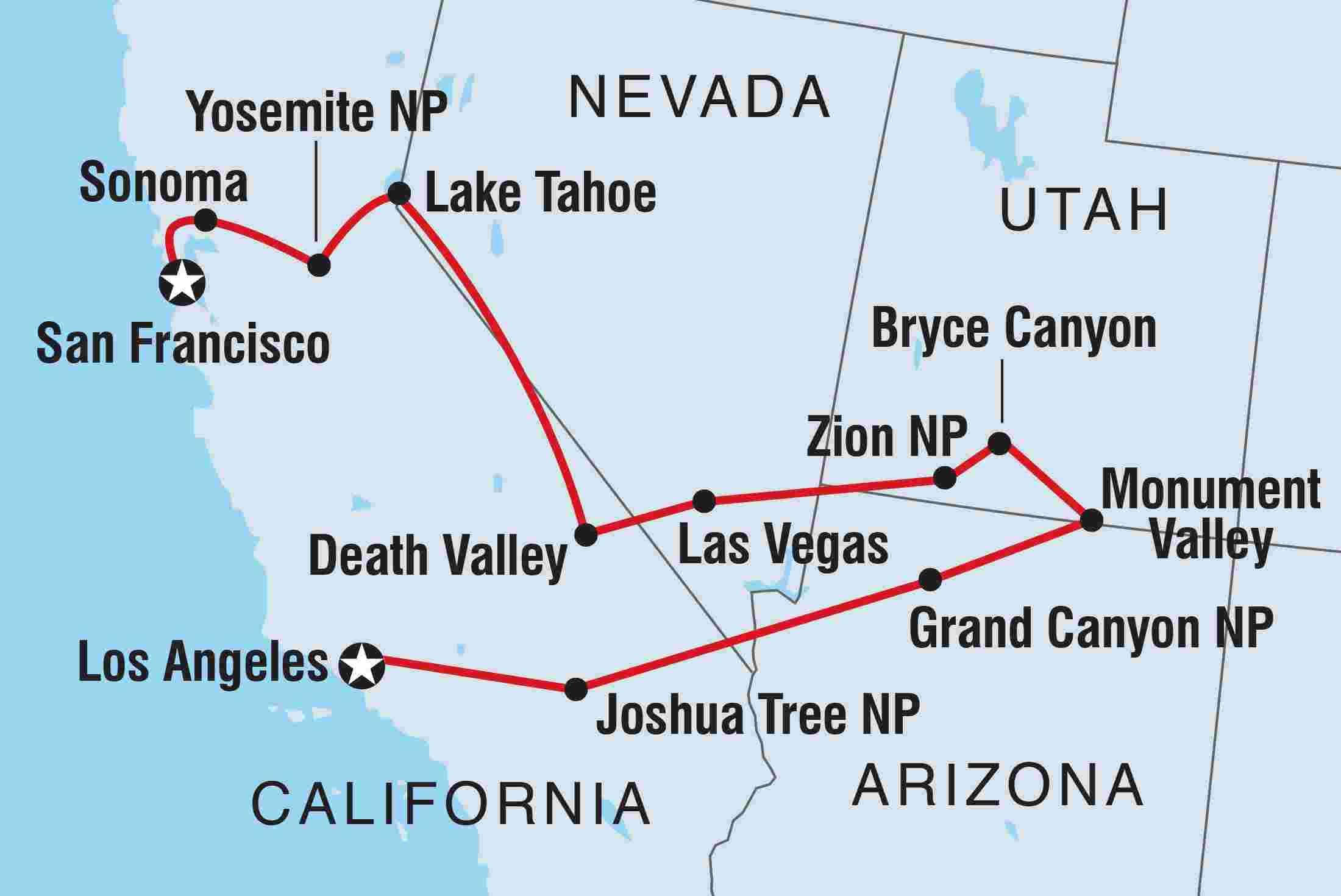 Usa National Parks Explorer Intrepid Travel